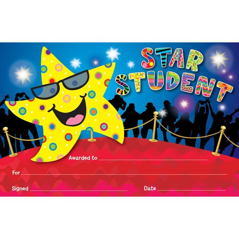 Star Student Award - Really Good Stuff
