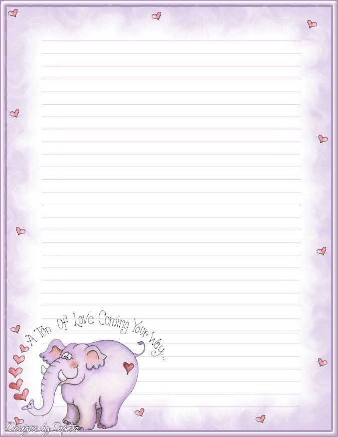 114 best Printable Lined Writing Paper images on Pinterest ...