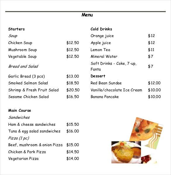 What Is A Beo?Food Order Form. Image Deli - Davis Food Co-Op 35 ...