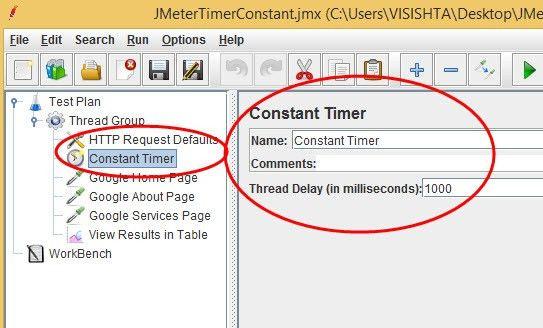 JMeter Timers - Constant timer Example | Selenium Easy