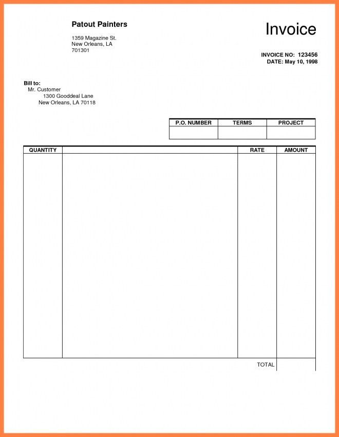 Invoice Template Google Docs Resume | Design Invoice Template