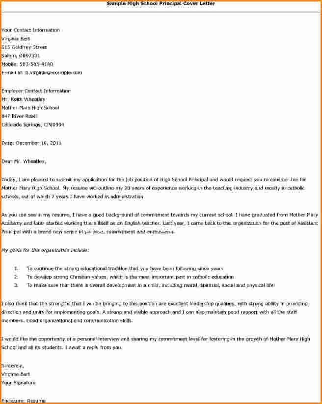 12+ high school cover letter examples | Invoice Template Download