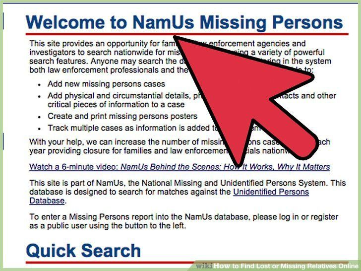 3 Easy Ways to Find Lost or Missing Relatives Online