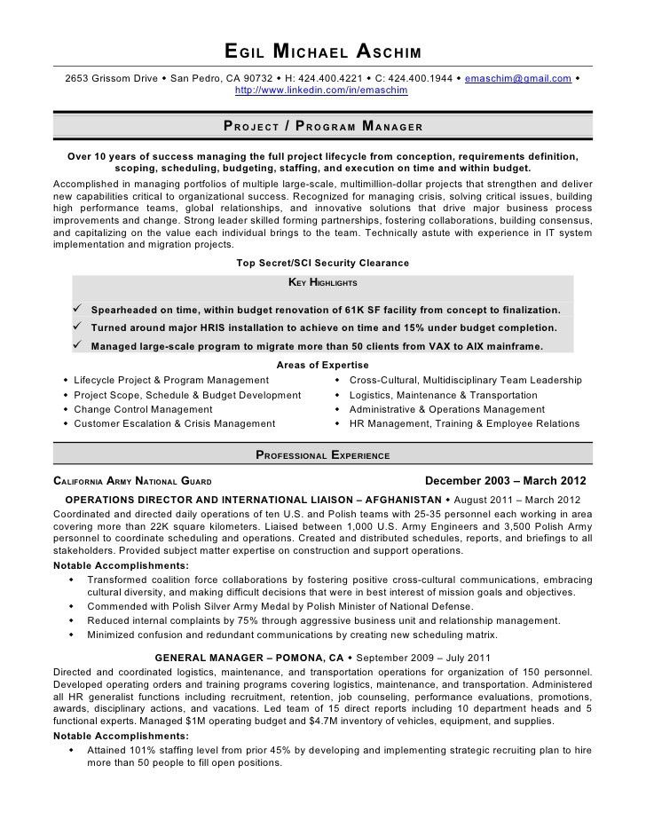 human resources generalist resume