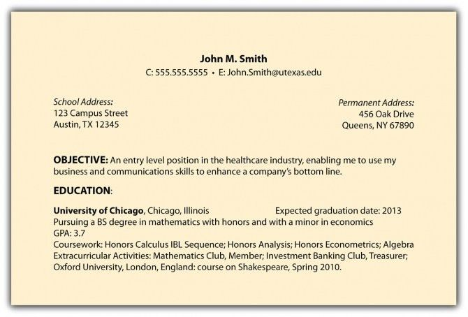 resume goals examples resume format. sample job objectives resume ...