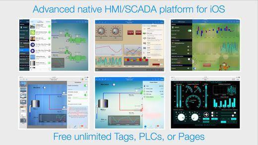 HMI Draw, native HMI/SCADA development environment on the App Store