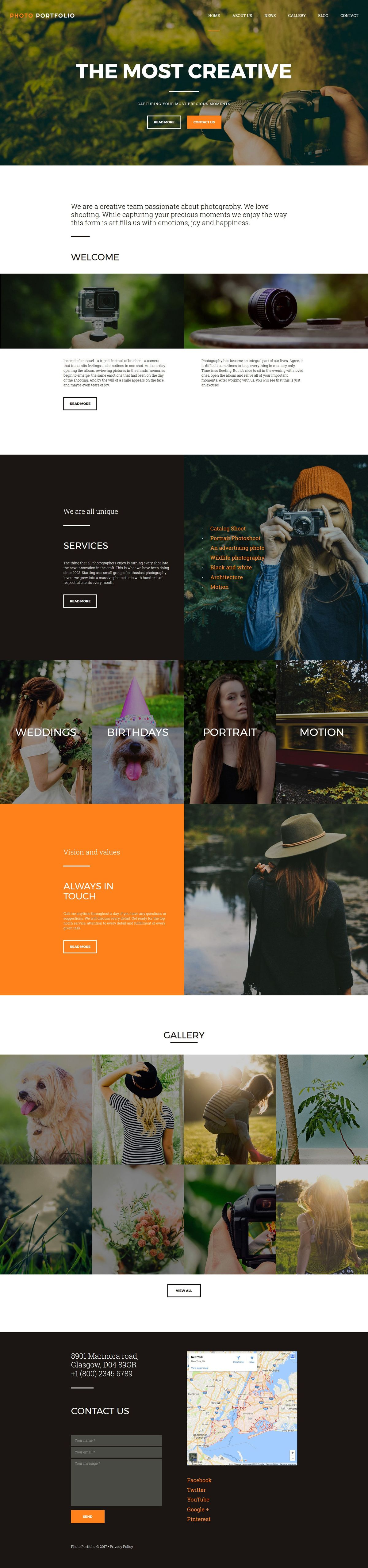 Photo Gallery | Gallery Templates
