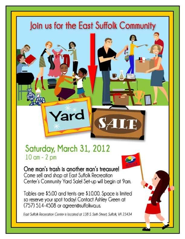 13 Cool Garage Sale Flyers - Printaholic.com