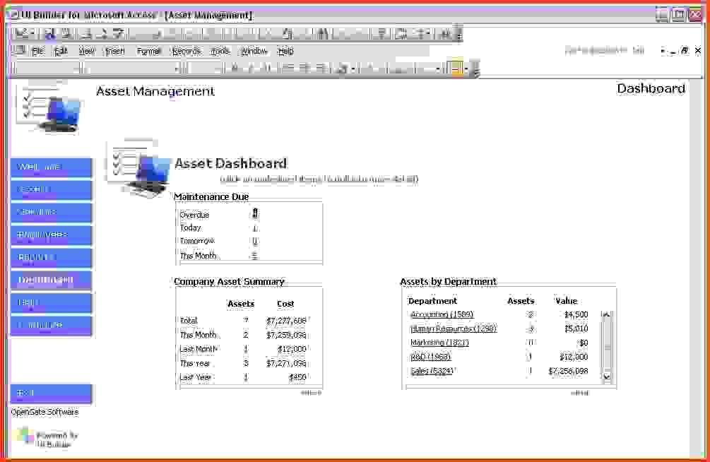 Microsoft Access Templates.Microsoft Access Templates Book Library ...