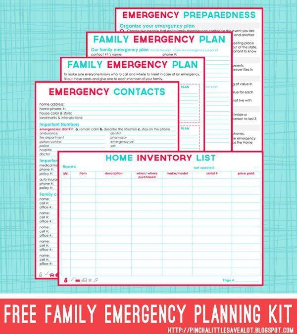 Best 25+ Family emergency binder ideas on Pinterest | Emergency ...