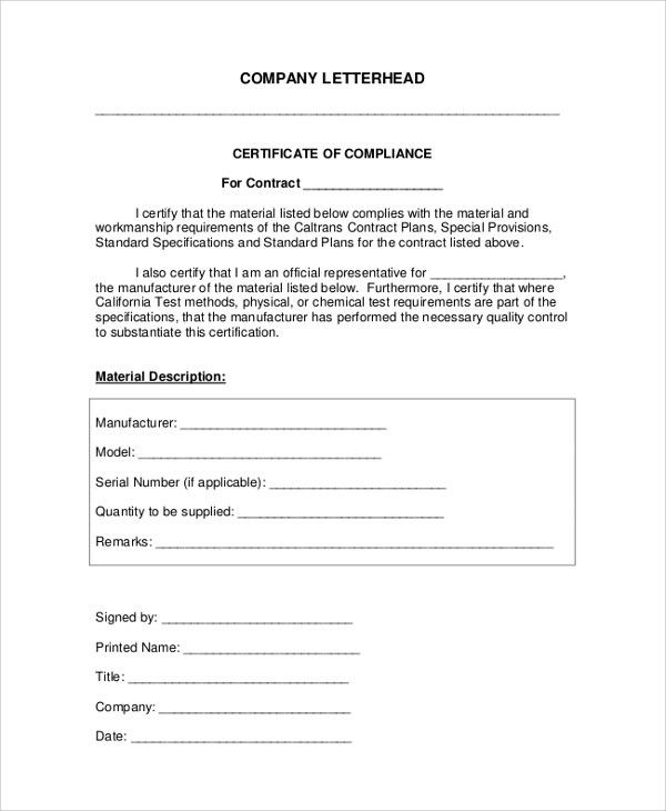 Sample Company Letterhead - 7+ Documents in PDF, Word