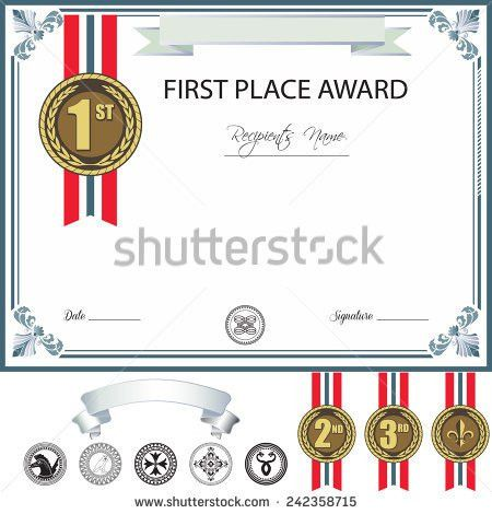 Certificate Of Merit Stock Images, Royalty-Free Images & Vectors ...