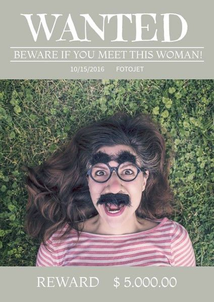Wanted Poster Maker - Make A Funny Wanted Poster To Amuse Your ...