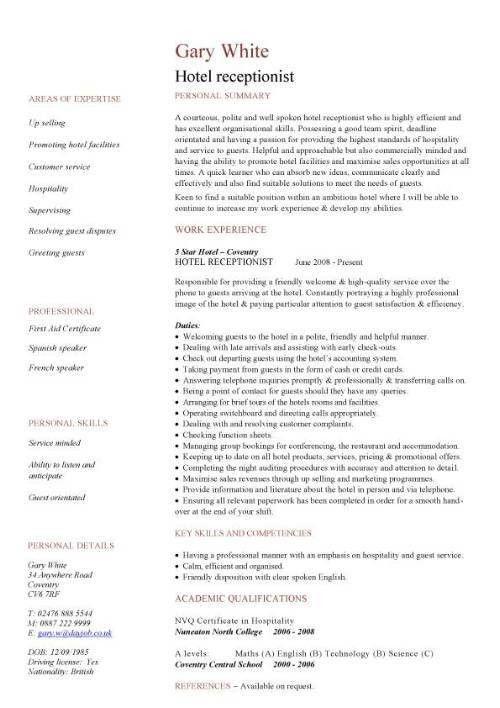 Business Resume Examples 9 - uxhandy.com