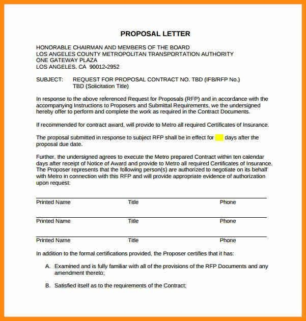 9+ sample proposal letter for services | musicre sumed