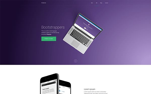 Bootstrap Landing Pages | High Price | WrapBootstrap