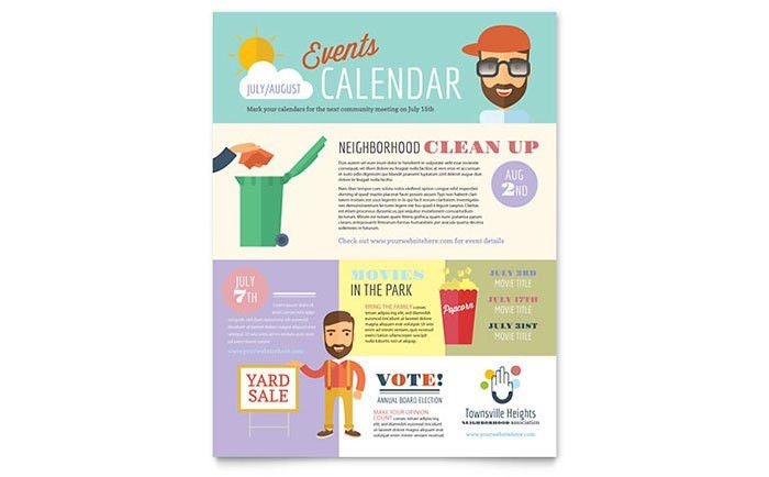 Homeowners Association Flyer Template Design by StockLayouts ...