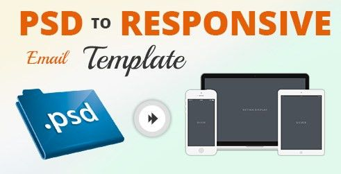 PSD to Responsive Email Template Conversion: Newsletters Design ...