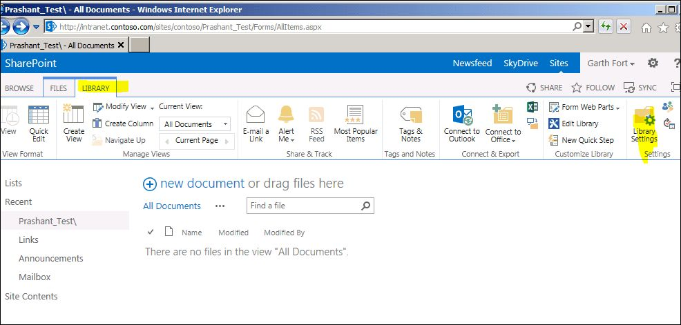 How to check the Description of the Document Library in SharePoint ...