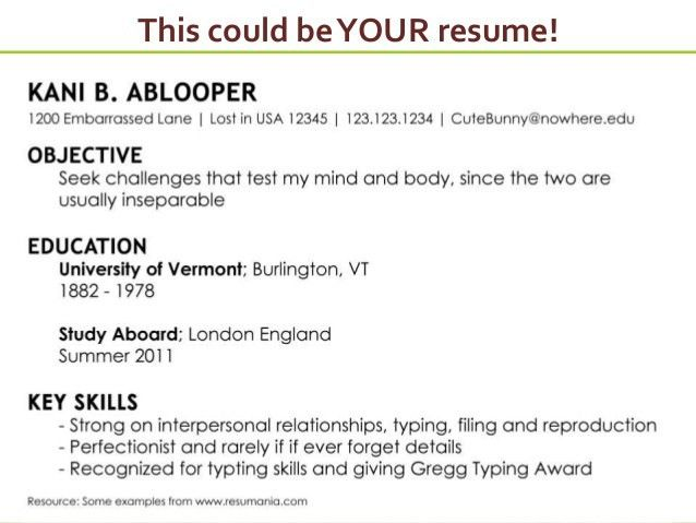 resume. resume for a job perfect resume a resume job free sample ...