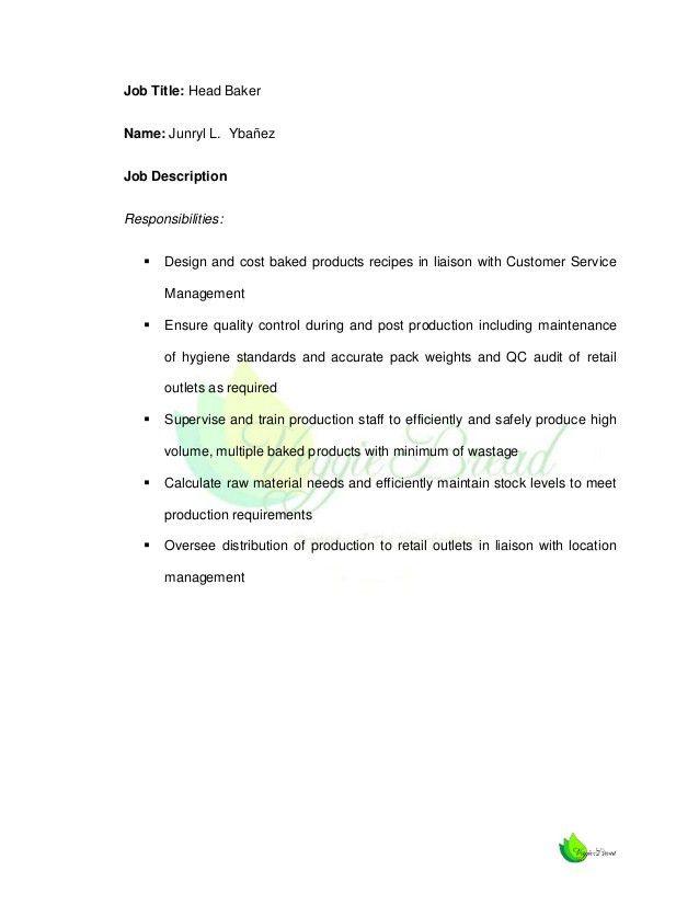 production worker job description production supervisor job