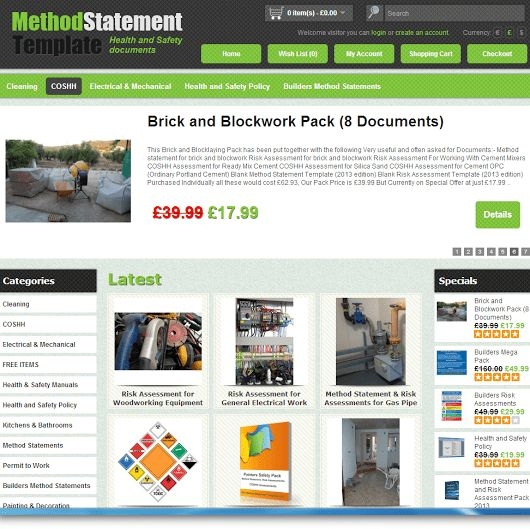 Method Statement & Risk Assessment Templates - Google+