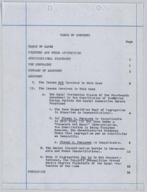 Brown v. Board of Education of Topeka, Kansas - Brown v. Board at ...
