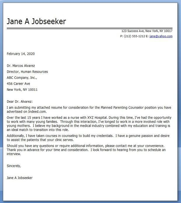 2016 Cover Letter for Career Change - Writing Resume Sample ...