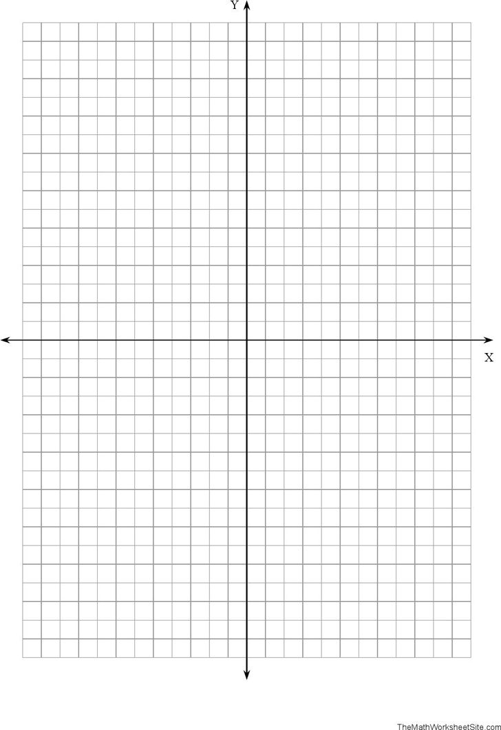 Graph Paper With Axis - Template Free Download | Speedy Template