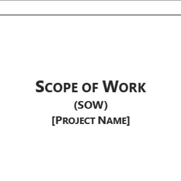 Construction scope of work Example Archives - Word Templates