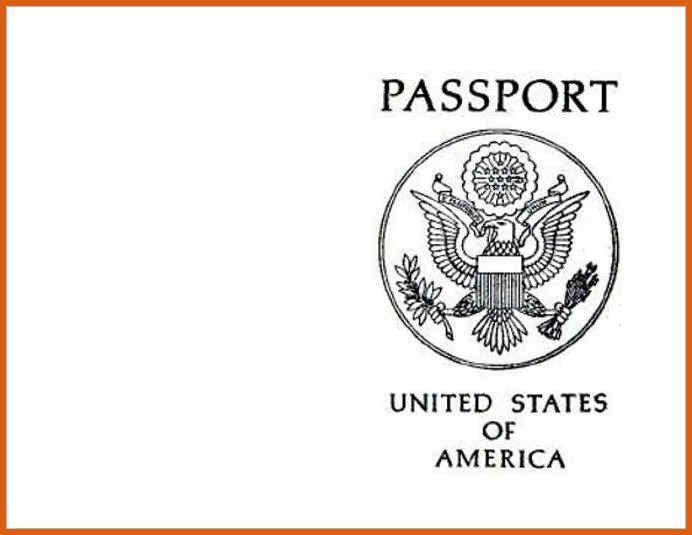 Passport Template. Passport Template 666 Download 10 Passport ...