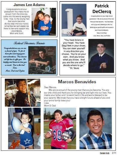 Yearbook / 2018 Senior Yearbook Ads