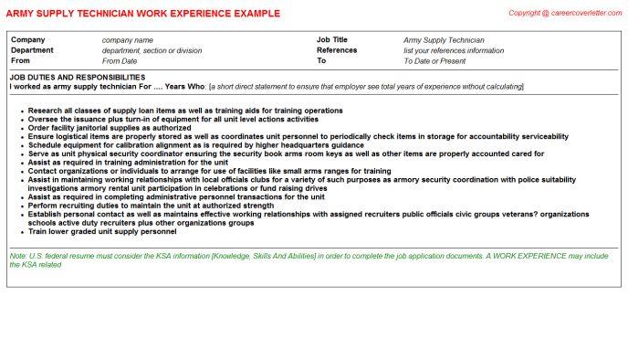 technician sample resume resume cv cover letter. sterile supply ...