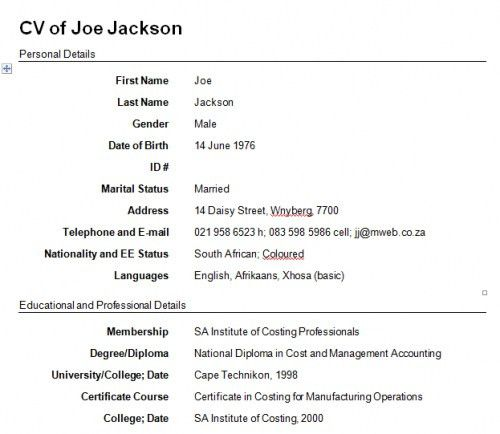 How Do You Make A Resume How Create Resume Creating A Resume .