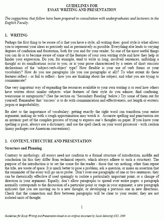 english essay sample how to write an english essay sample essays ...