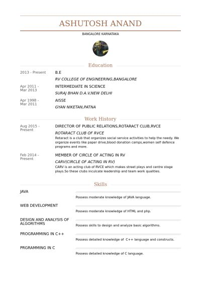 Director Of Public Relations Resume samples - VisualCV resume ...