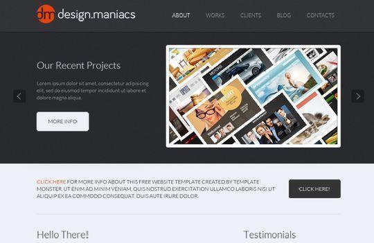 50 High Quality Free HTML5 And CSS3 Web Templates | SmashingApps.com