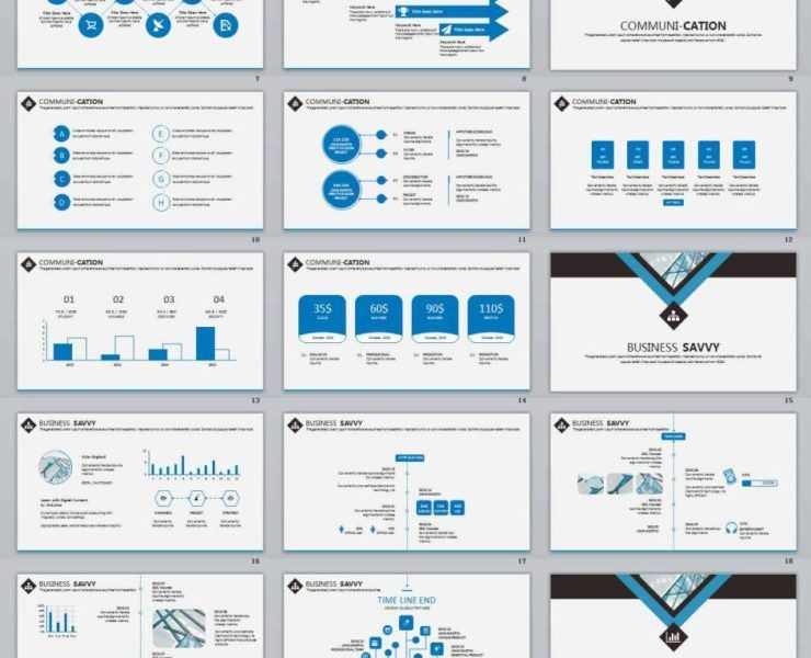 clean | PowerPoint Templates and Keynote Templates