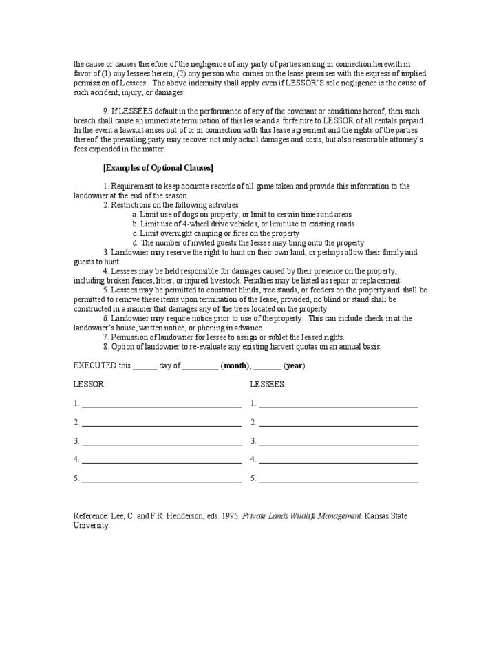 Sample Of Indemnity Form Indemnity Agreement Template Sample Form