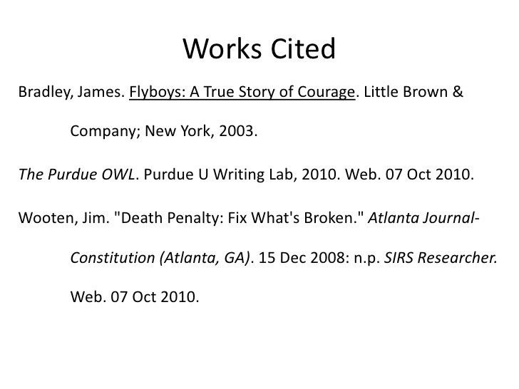 MLA In-text Citation