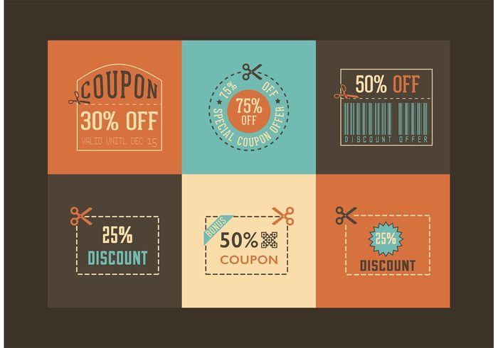 Coupon Free Vector Art - (4508 Free Downloads)