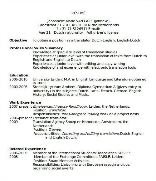 Resume Templates Microsoft. Resume Template Package | Instant ...