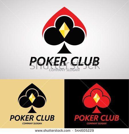 Poker Club Logo Design Casino Business Stock Vector 544605229 ...