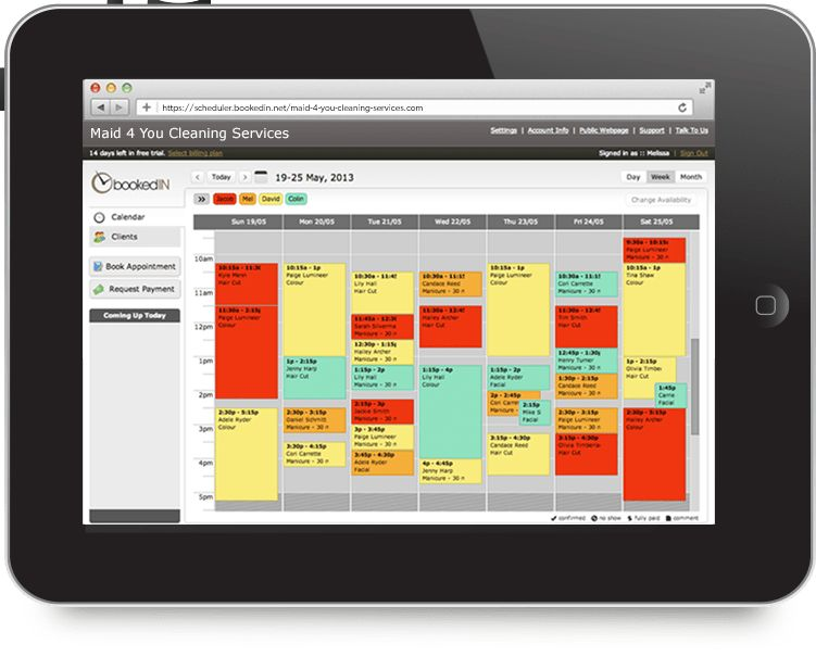 Appointment Scheduling Software For Cleaning Service Businesses ...