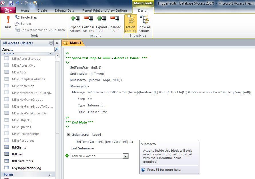 Embedded Macro vs VBA - UtterAccess Forums