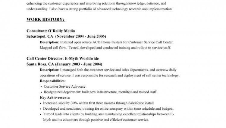 resume objective customer service berathen com restaurant resume