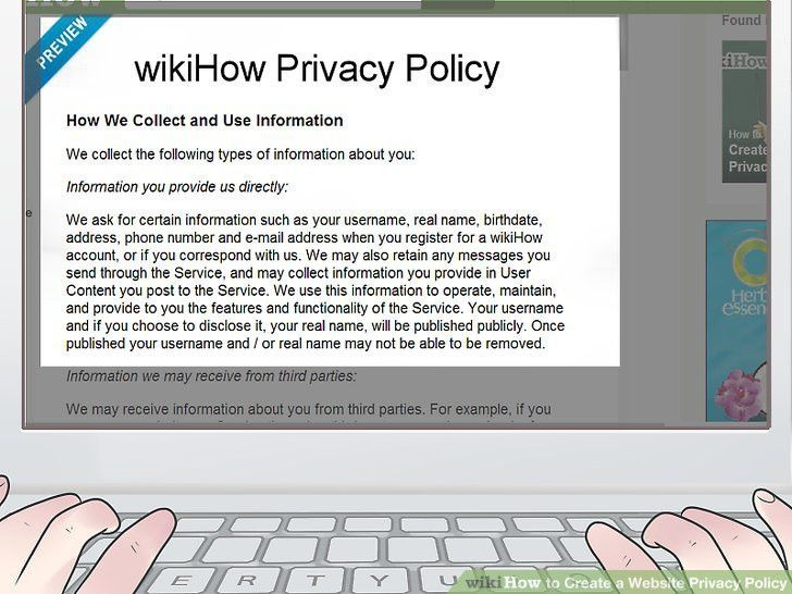 How to Create a Website Privacy Policy (with Sample Privacy Policy)