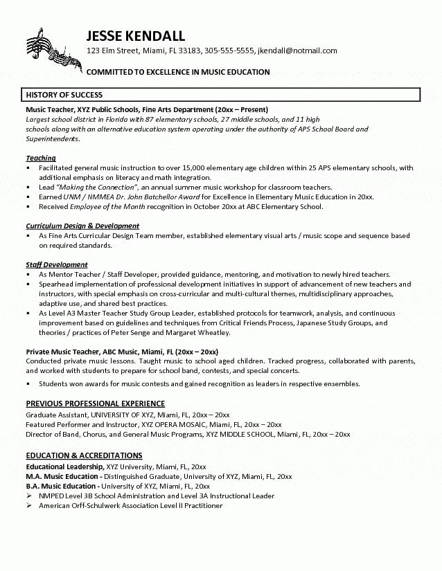 free. special ed teaching resume example. elementary. resume ...