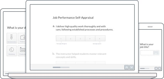 Create Employee Self Evaluation Forms—Engage Staff | Typeform