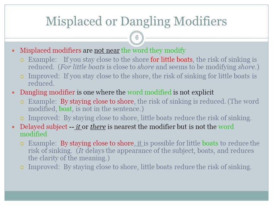 Dangling Modifiers Can Be Dangerous - ppt download